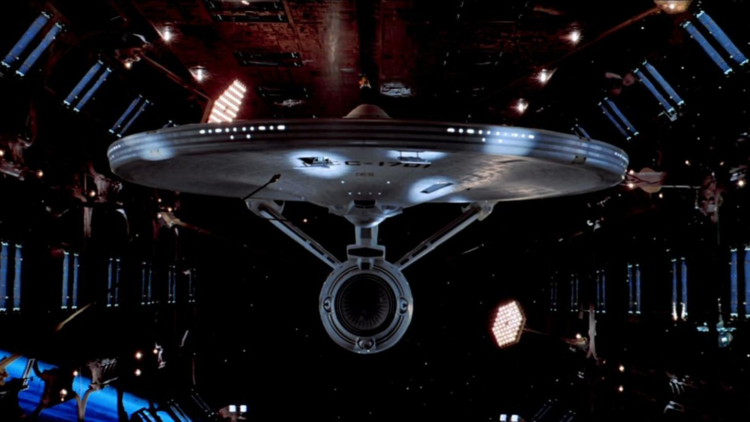 """U.S.S. Enterprise (from """"Star Trek: The Motion Picture"""")"""